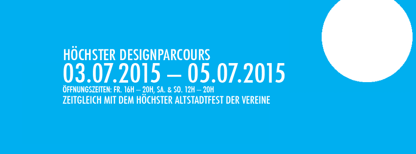Designparcours Sommer 2015